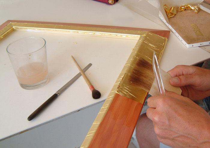 Gold Leaf Framing
