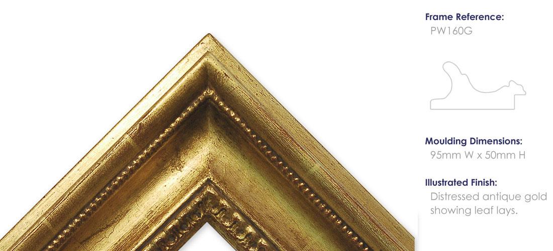 PW160G Antique Gold