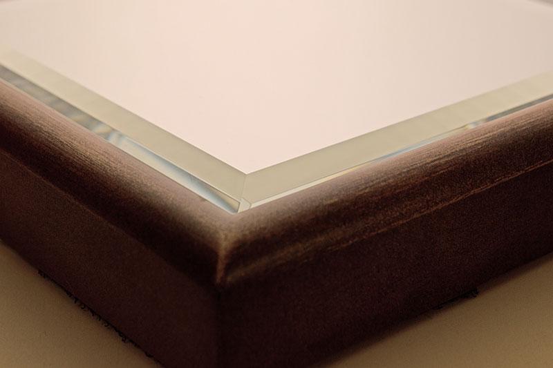 Low iron Bevel mirror glass