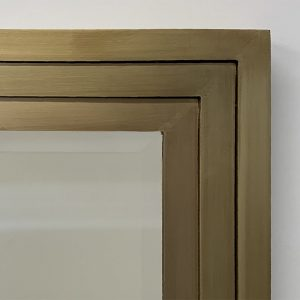 Brass Stepped Frame