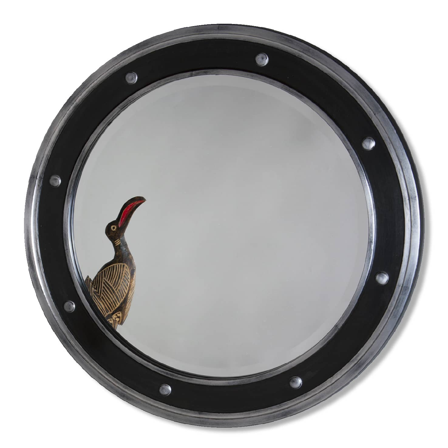 Charleston Round Mirror