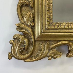 Antique Gold Ornate Frame Corner