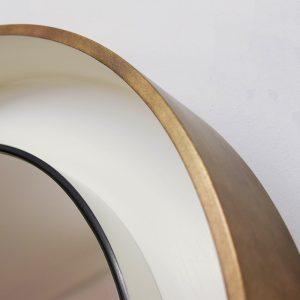 Tiered Round Mirror Frame