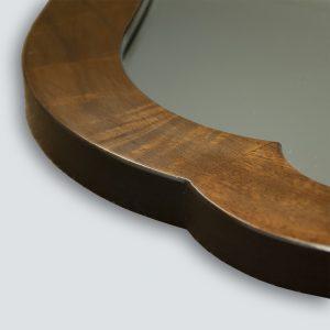 Veneer Shaped Mirror Frame