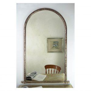 Acanthus overmantel mirror