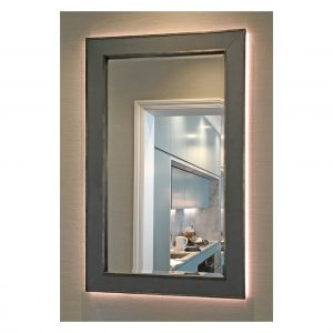 Back-lit Charcoal Grey Alfriston Mirror