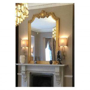 Bespoke Over mantel Mirror