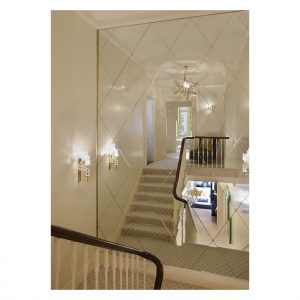Diamond Mirror Wall