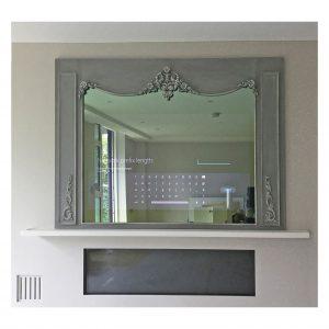 Gustavian Styled TV Mirror