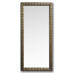 Hand Carved Antique Gold Mirror