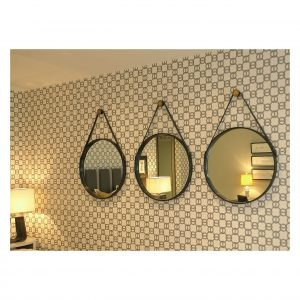 Leather Mayfield Mirrors