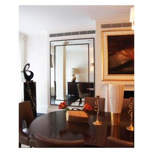 Multi Panelled Mirror Frame