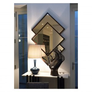 Overlapping Squares Bespoke Mirror