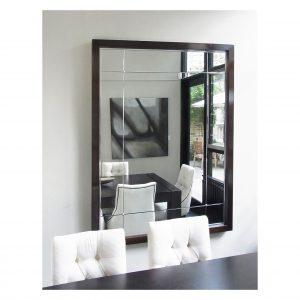 Polished Edge Panelled Mirror