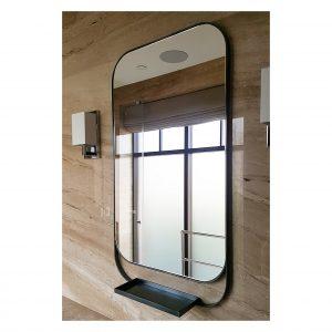 Shaped Metal Bespoke Bathroom Mirror
