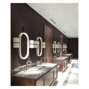 Shaped Vanity Mirrors