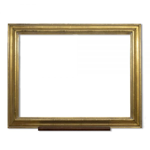 Frame PW112 finished in antique gold