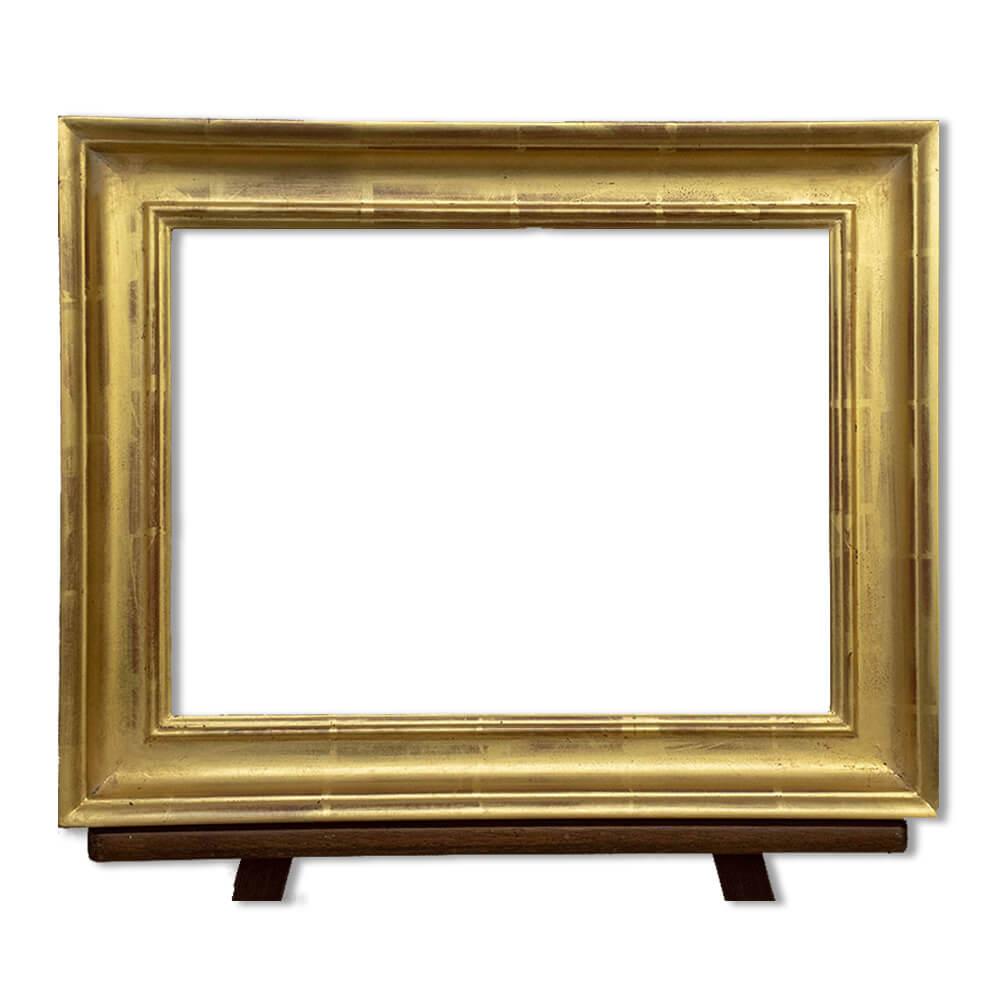 Frame A108 in gilded gold leaf