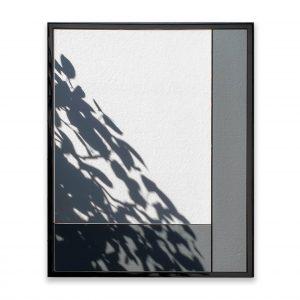 Asymmetric Mirror with lacquer frame