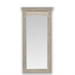 Classic distressed floor mirror