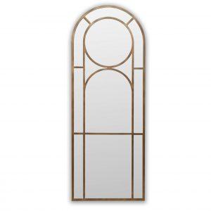 Shaped Floor Standing Mirror
